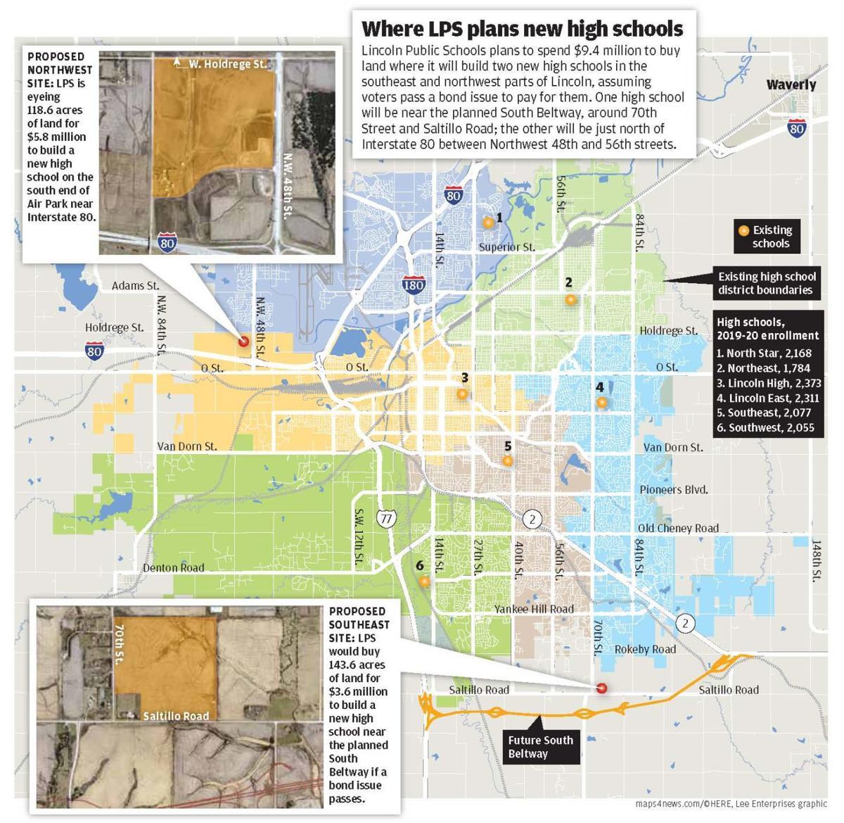 New schools map