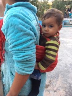 Berber village boy in Morocco