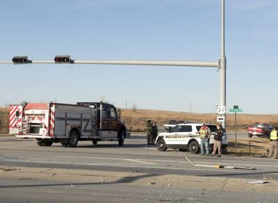 Accident at U.S. 34 and NW 48th Street