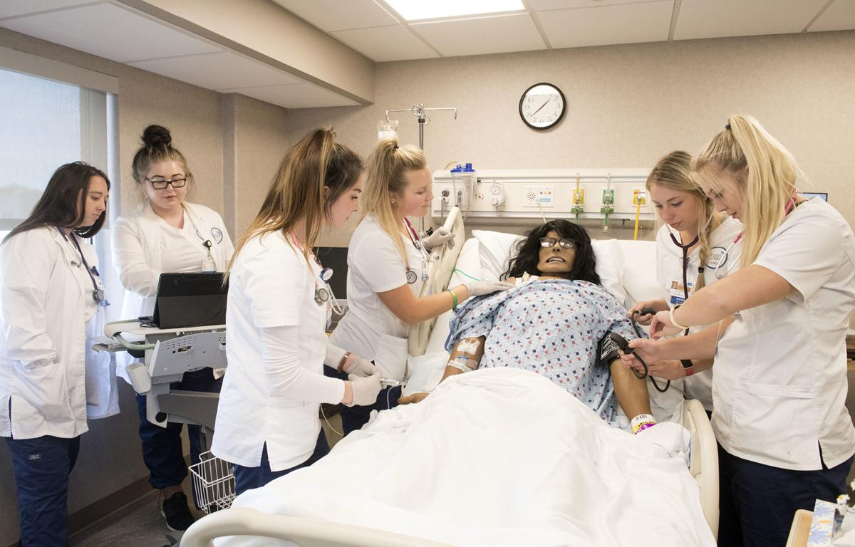 Bryan College of Health Sciences simulation center