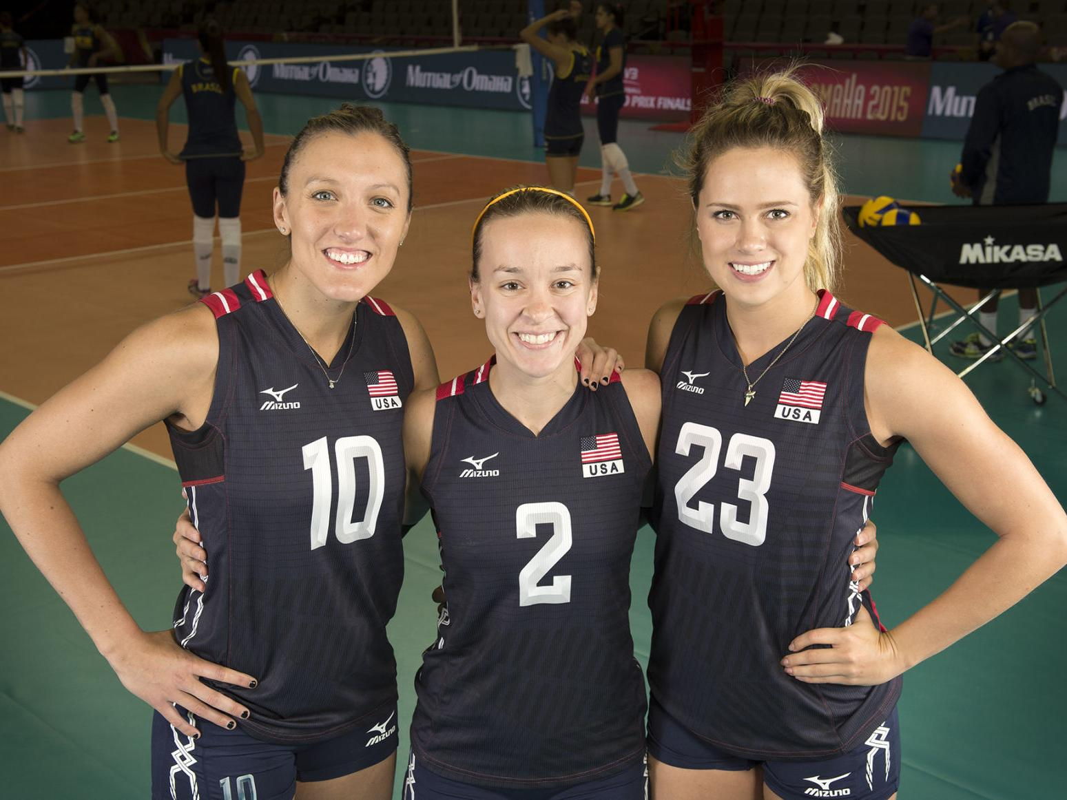 Three Ex Huskers Named To Olympic Volleyball Team Volleyball Journalstar Com