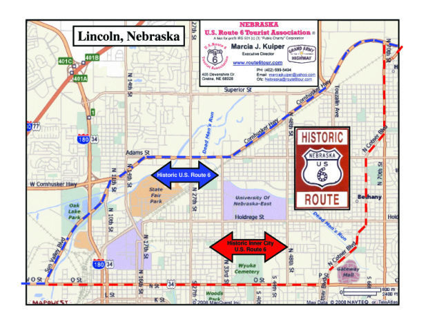 Route Through Nebraska L Magazine Journalstarcom - Us route 6 map