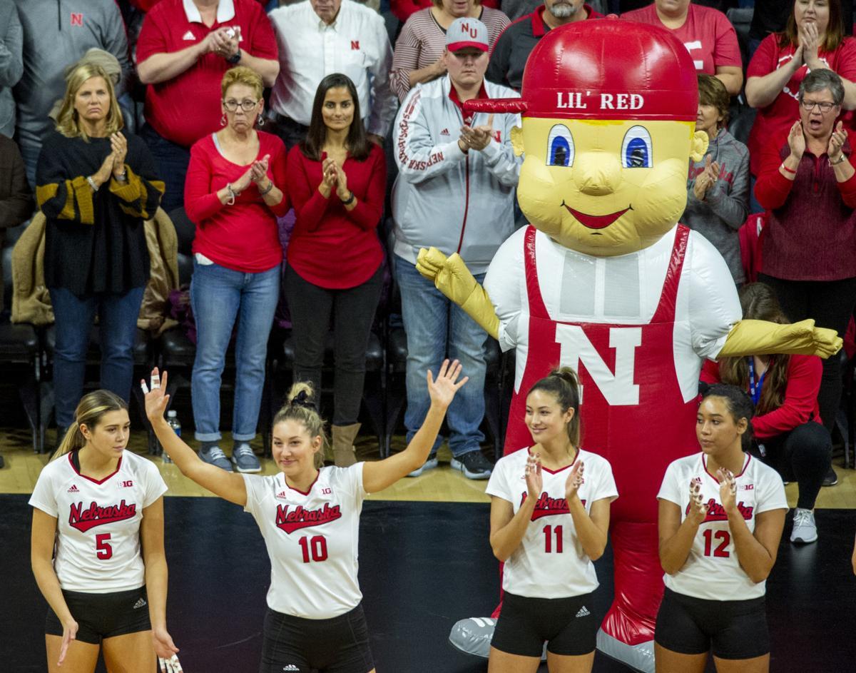 Nebraska volleyball vs. Missouri, 12.7