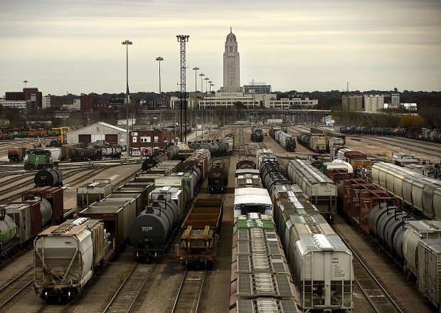 BNSF Hobson Yard in Lincoln