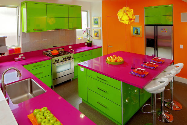 A purple stove? Cook up some color for a kitchen that pops | Home and  Garden | journalstar.com