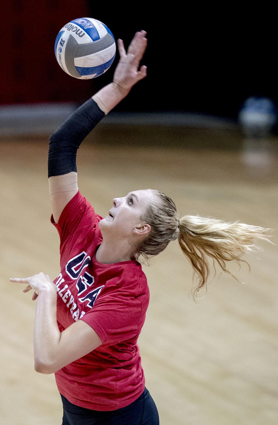 Nebraska volleyball camp, 7/10/18