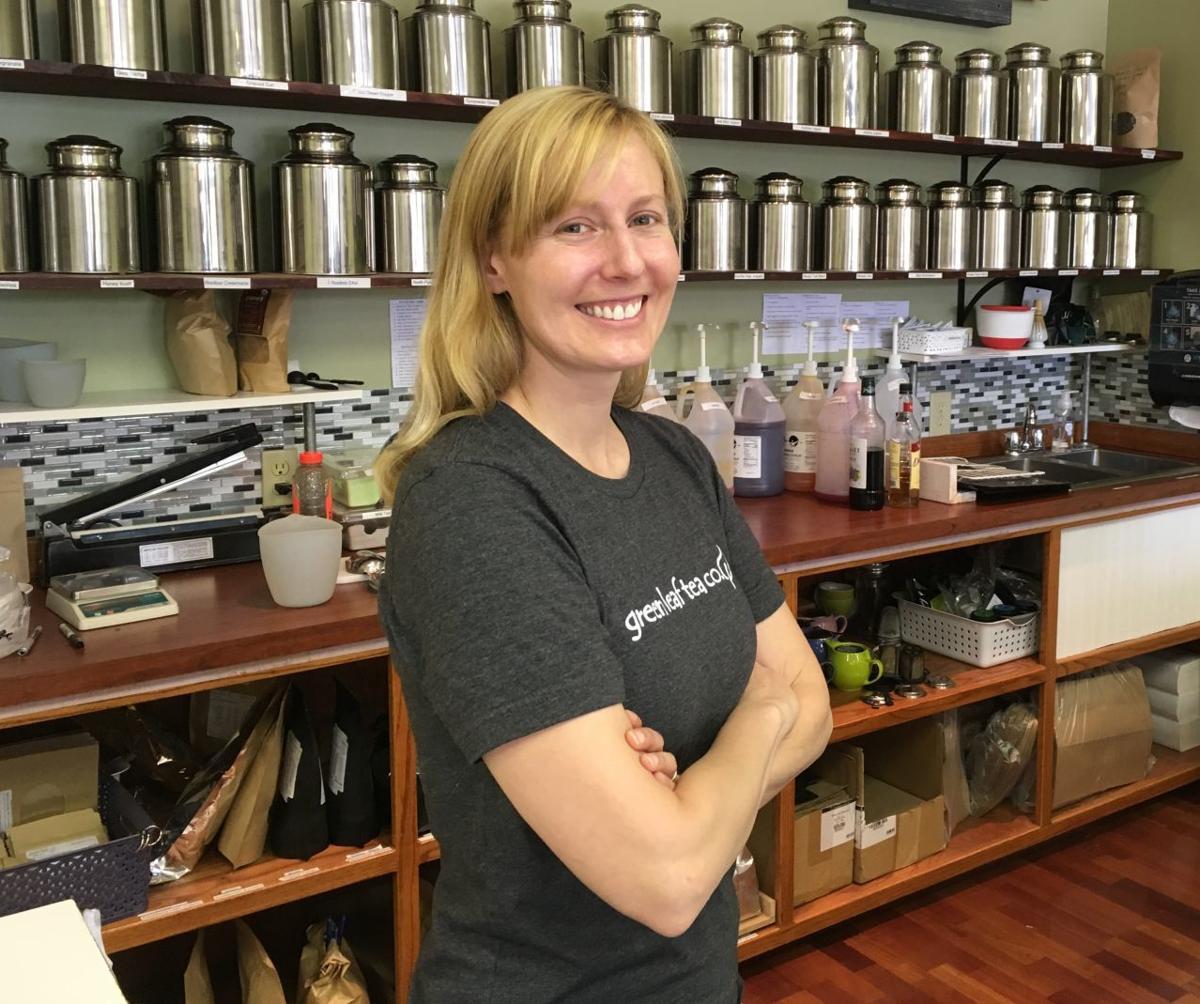 Elizabeth Rieke-Hefley, Green Leaf Tea Co.