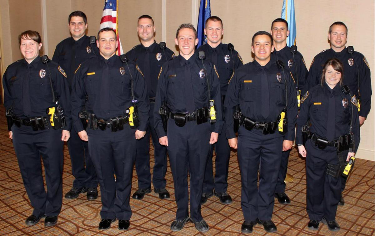 Lincoln police field largest class of recruit officers in