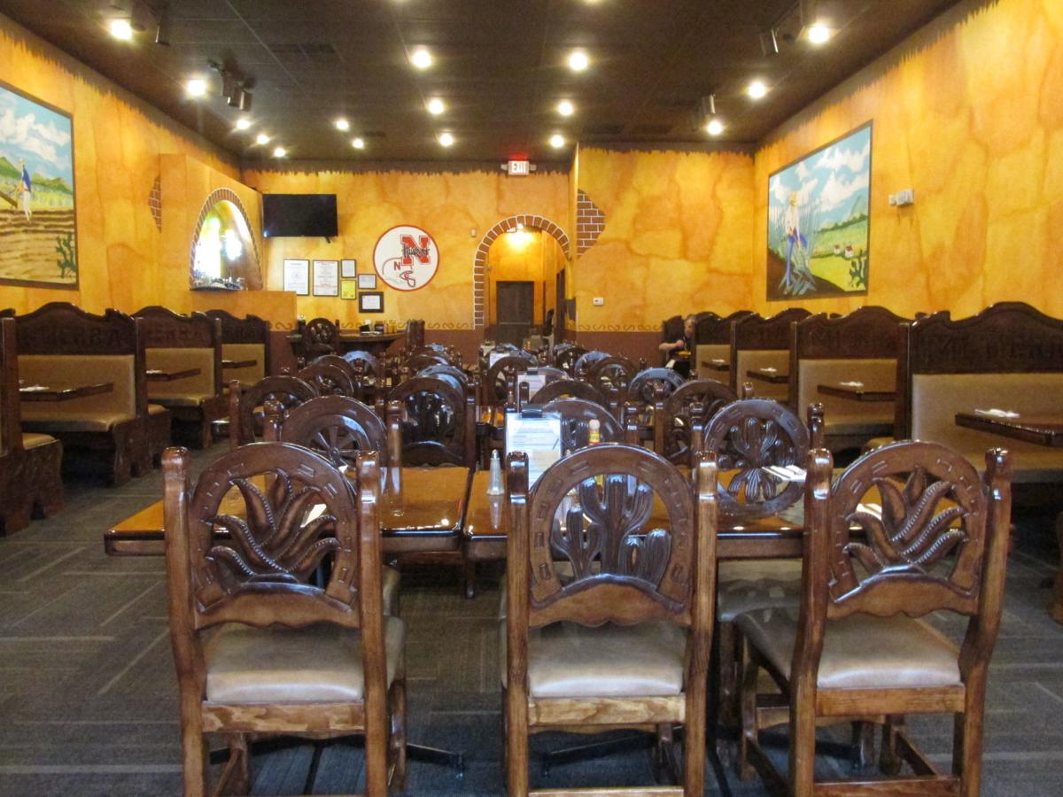 Mexican atmosphere and ambiance at Mi Tierra