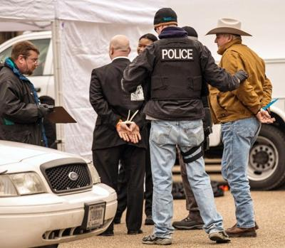 Keystone XL arrest