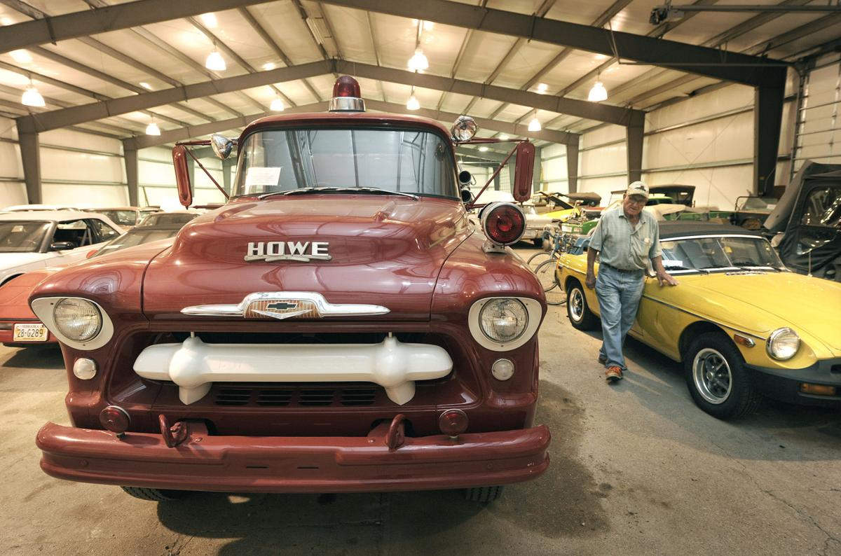 Going, going, gone! Collection of vintage, eclectic cars up for ...