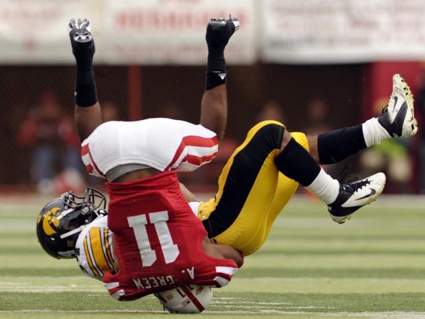 Nebraska vs. Iowa action, 11.25.2011 19