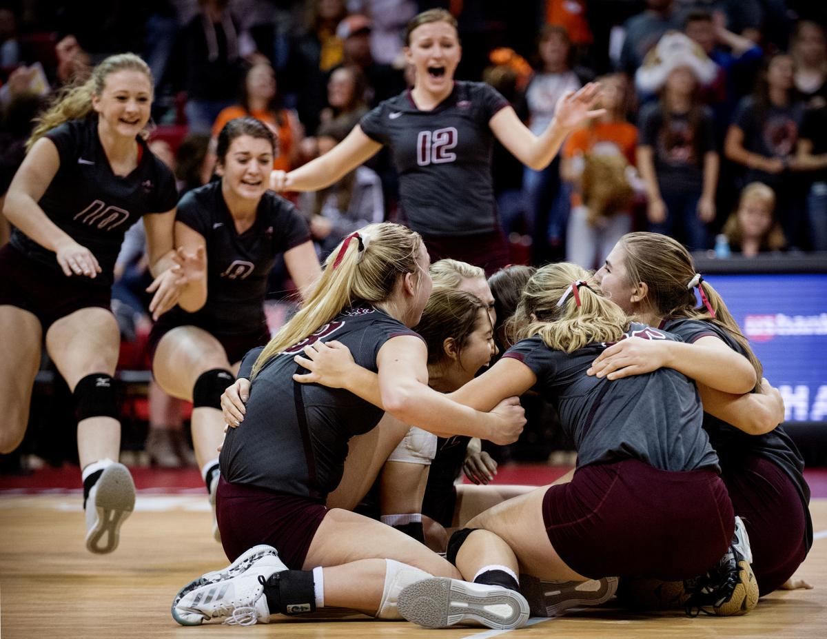 Ewing vs. BDS, Class D-2 State Volleyball Championship, 11.10.18