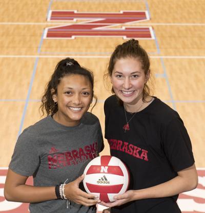 Early freshmen Nebraska volleyball