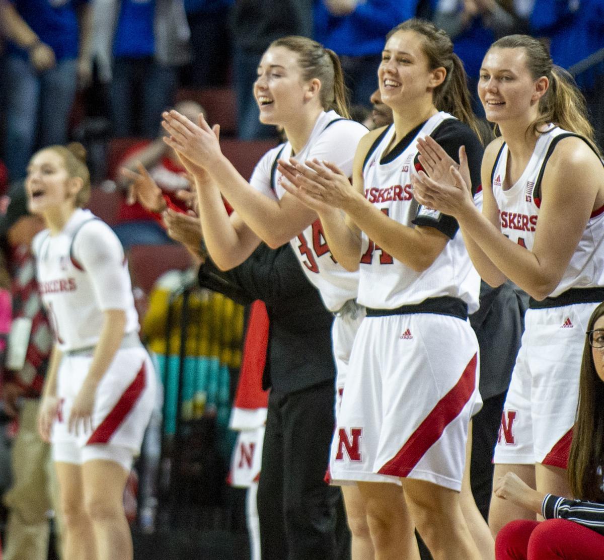 Nebraska vs. Michigan women's basketball, 1.19
