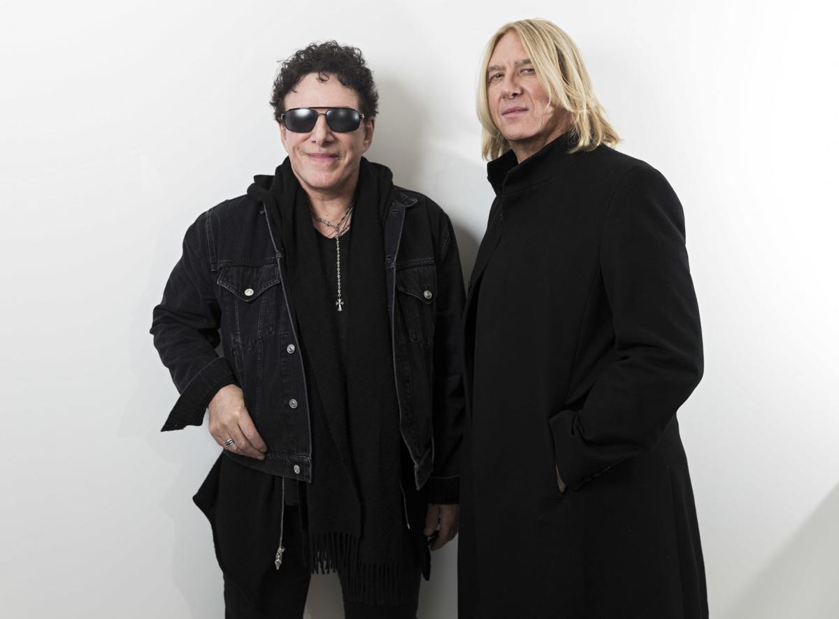 Neal Schon and Joe Elliott