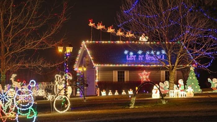 light display a family affair at bayer home local journalstarcom