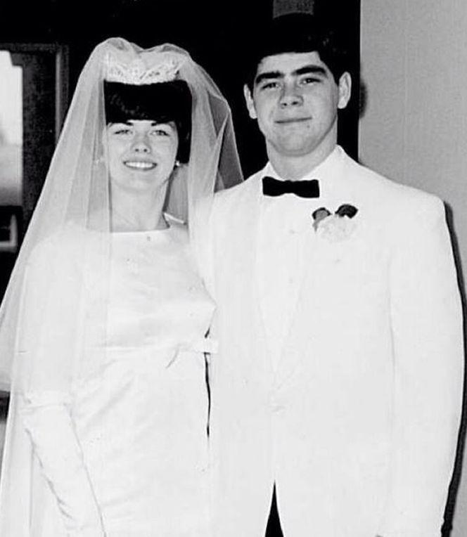 Happy 50th anniversary, Kenny and Debbie Drewel