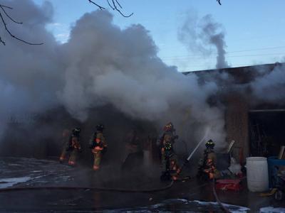 Platte Avenue fire