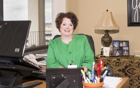 Kiersten Hill in her office