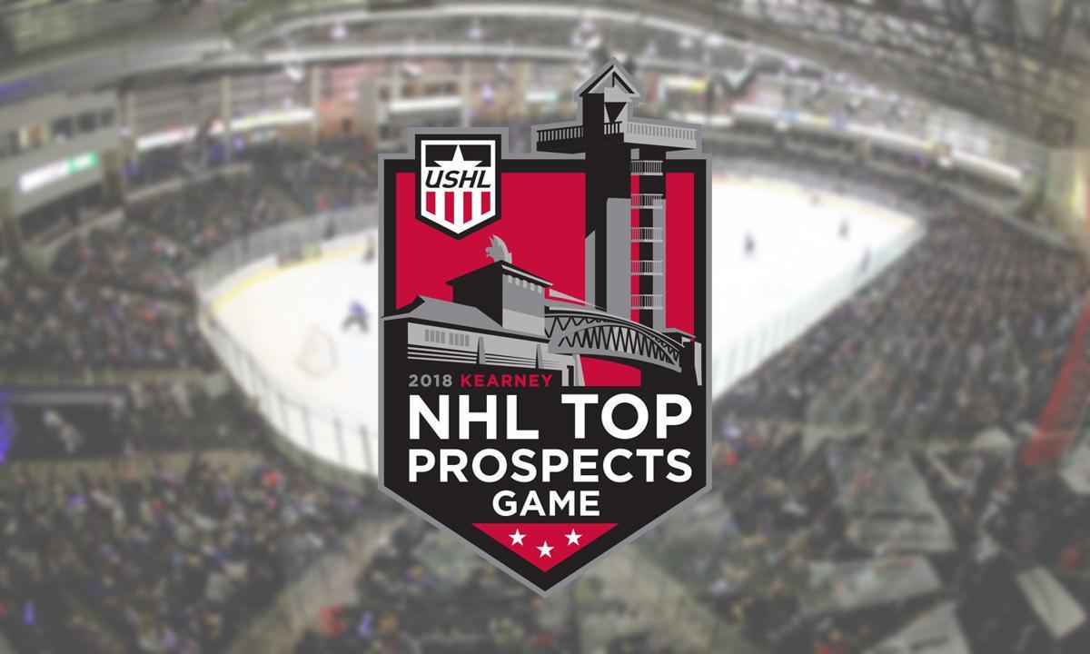 USHL/NHL Top Prospects game logo
