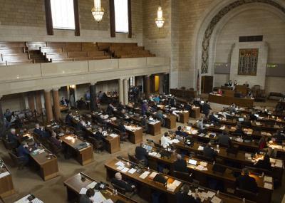 Last day of Nebraska Legislature