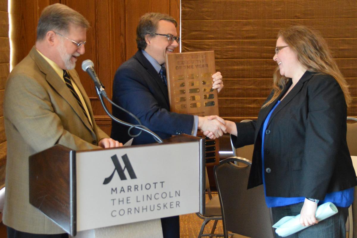 Monica Zinke receives Nonprofit Executive of the Year award