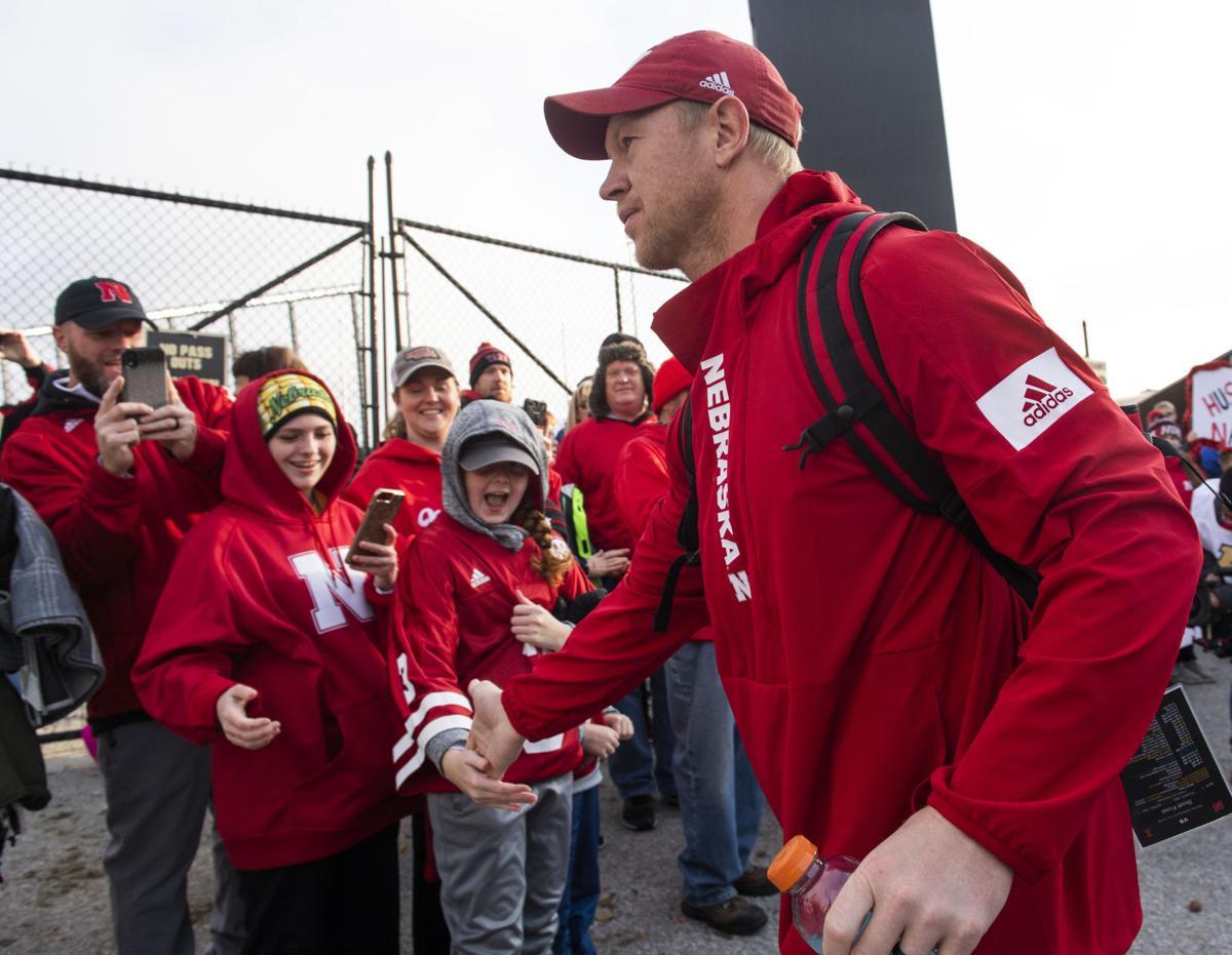 Photos: Nebraska football head coach Scott Frost