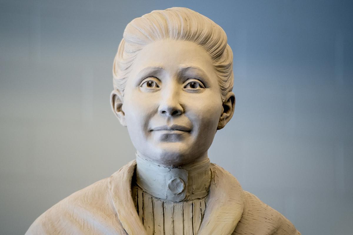 Picotte sculpture, 6.17