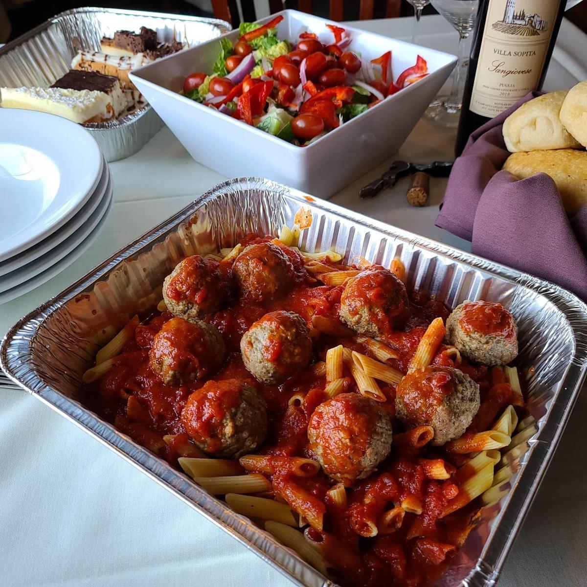 Florio's Pasta with Meatballs