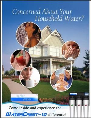 Concerned about your household water?