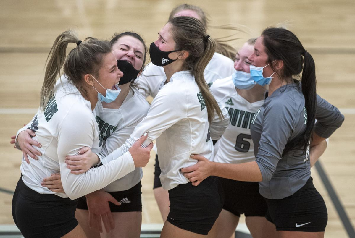 A-6 district volleyball, 10/28