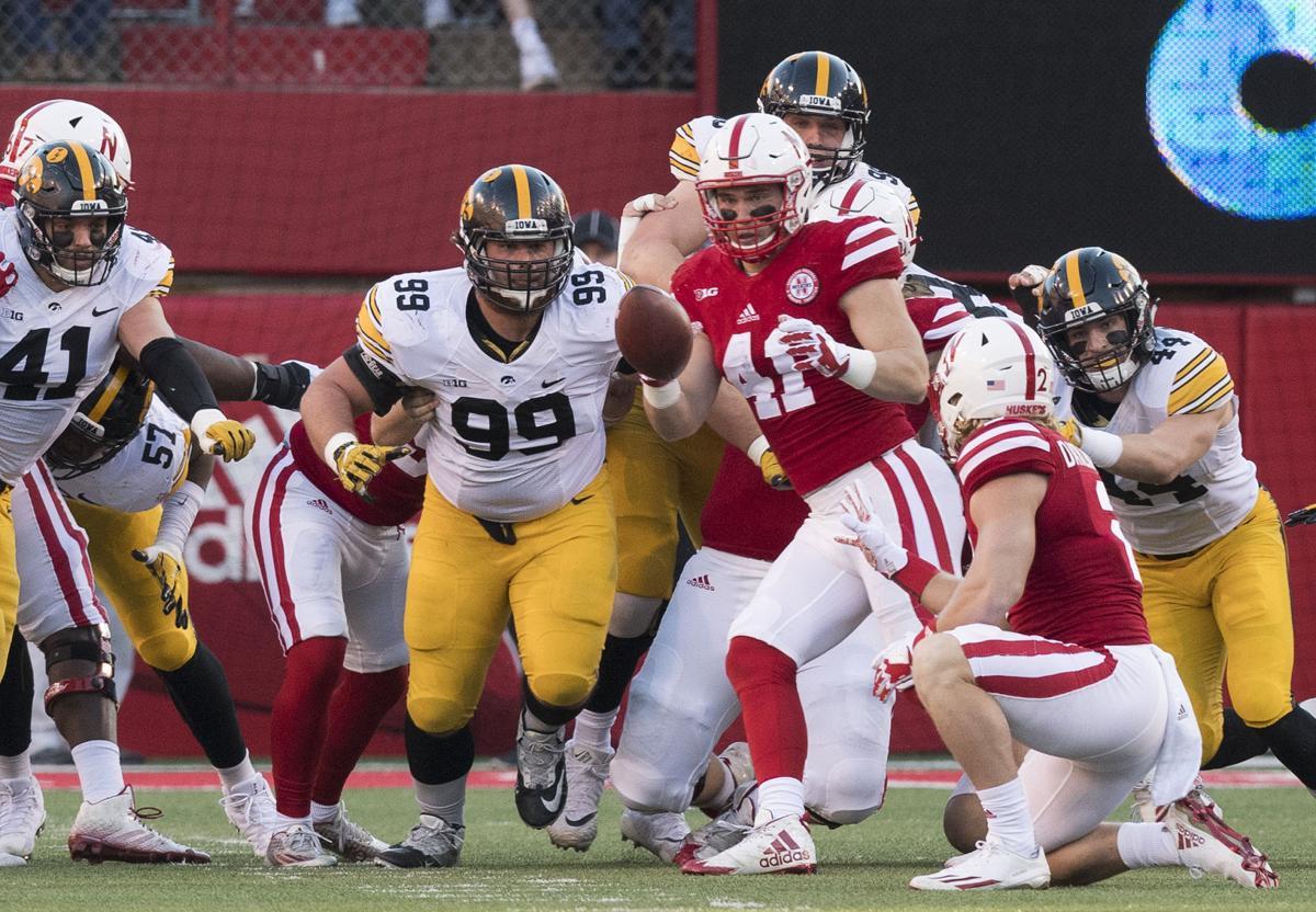 Nebraska vs. Iowa, 11/24/17