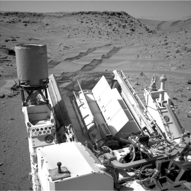 Mars Curiosity vehicle