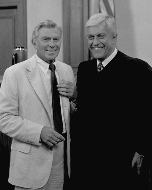 Andy griffith and dick van dyke