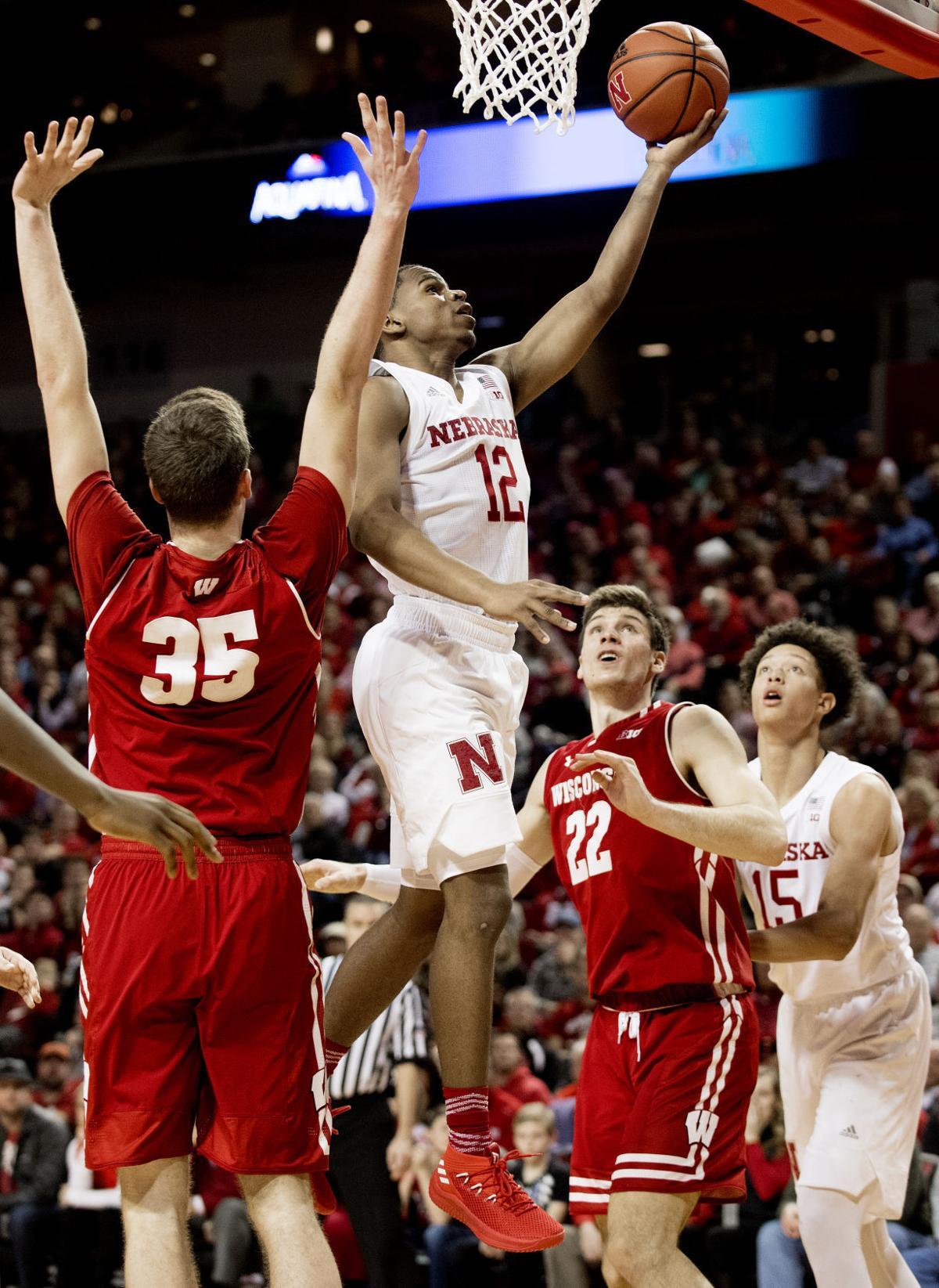 Wisconsin vs. Nebraska basketball, 1/9/18