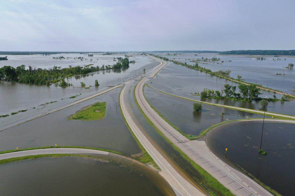 Interstate 29 flooding