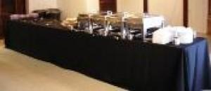 Country Pines Buffet Table