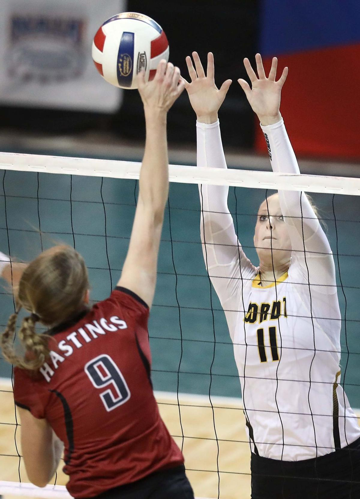 Dordt vs Hastings NAIA championship Volleyball