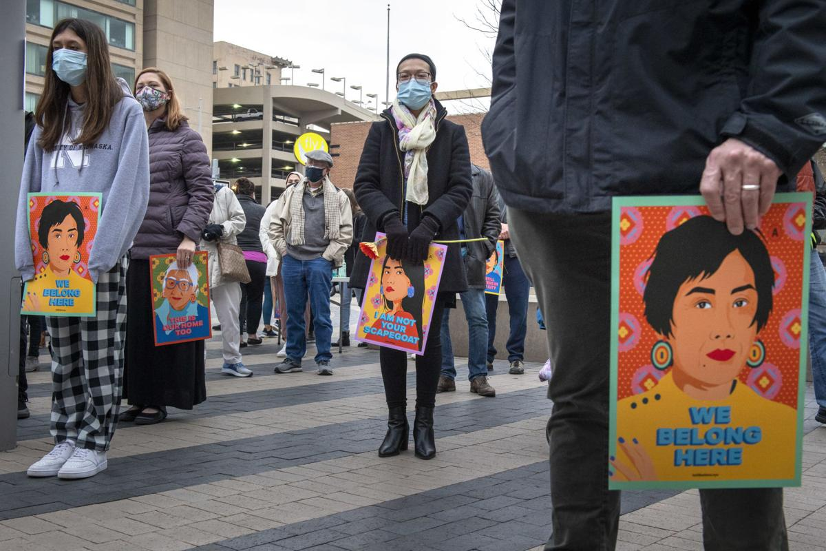 Asian Center candlelight vigil, 3.25
