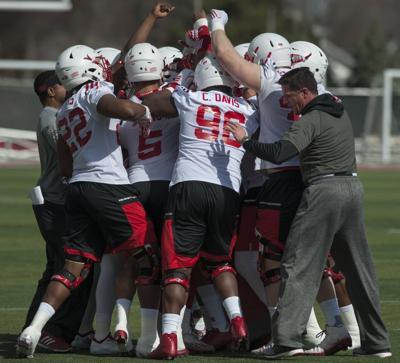 Nebraska football, first day of spring practice, 3/4