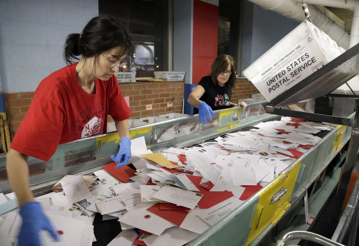 US Post Office Holiday Mail