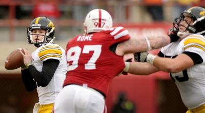 Nebraska vs. Iowa action, 11.25.2011 33
