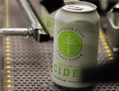 Canned cider