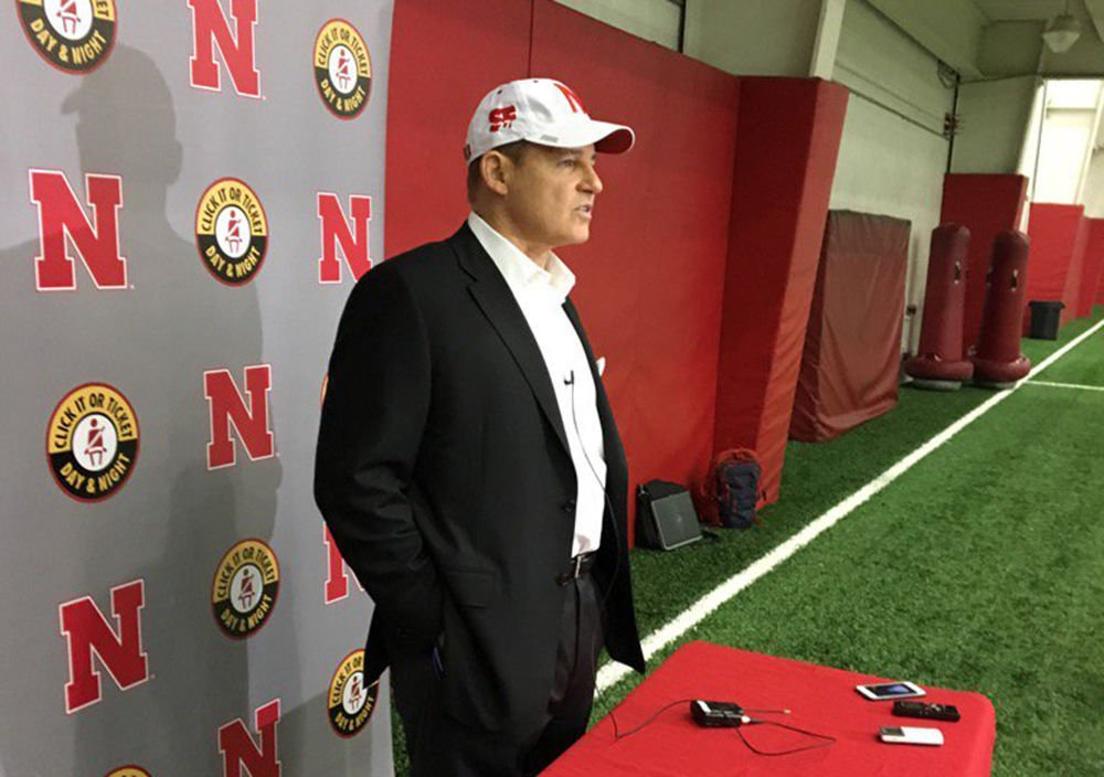 Les Miles, proud father of a Husker, thinks his son will ...