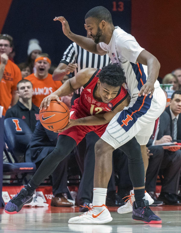 Nebraska Illinois Basketball