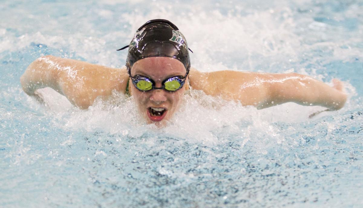 Prep Swimming, Southwest dual, 1.5.16