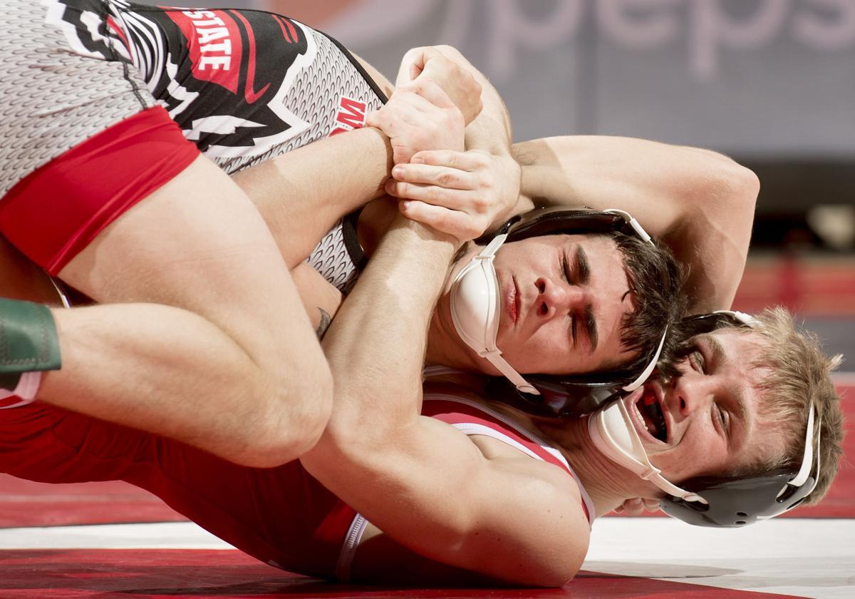 NC State vs. Nebraska wrestling, 12/15/17