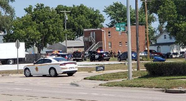 Kearney police standoff