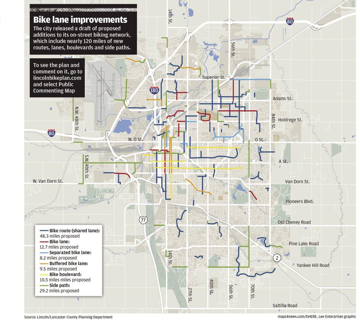 Proposed bike plan
